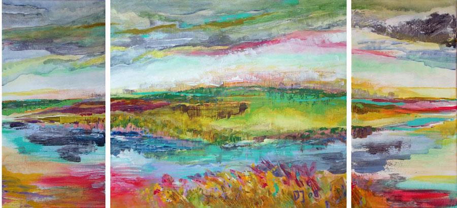Water polder land